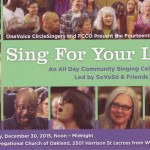 Sing For Your Life! 2015