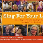 Sing For Your Life! 2016